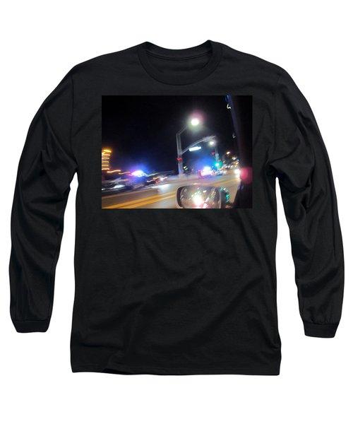 Laguna Night Long Sleeve T-Shirt by Dan Twyman