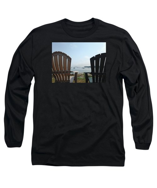 Laid Back Long Sleeve T-Shirt by Olivier Calas