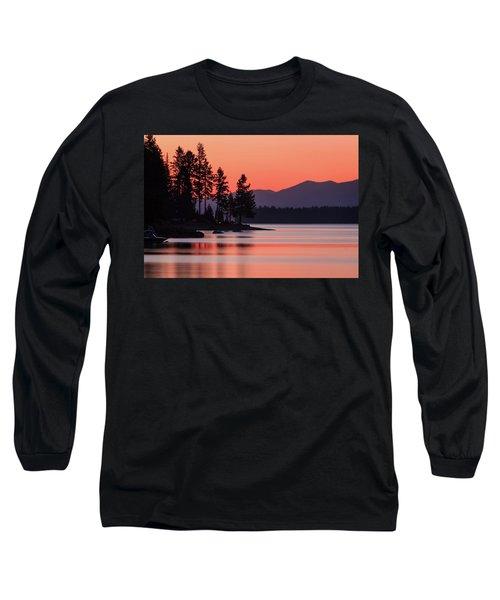 Lake Almanor Twilight Long Sleeve T-Shirt
