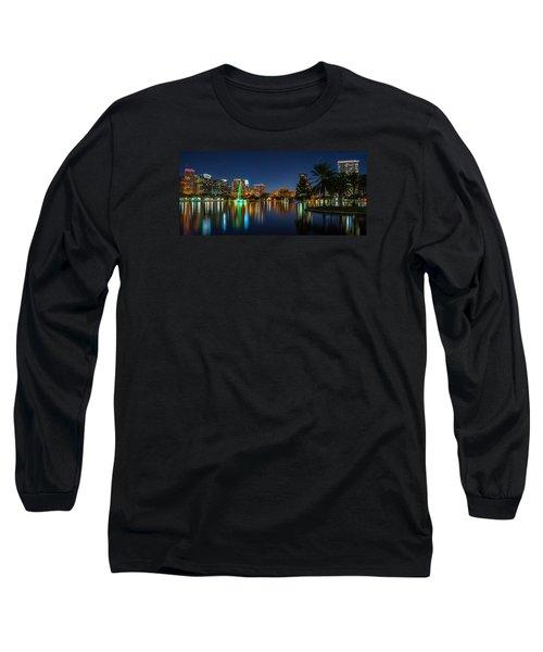 Lake Eola Orlando Long Sleeve T-Shirt