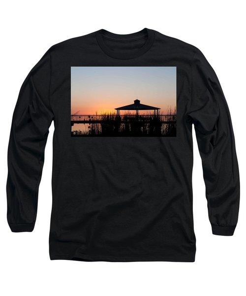 Lake Eustis Sunset Long Sleeve T-Shirt