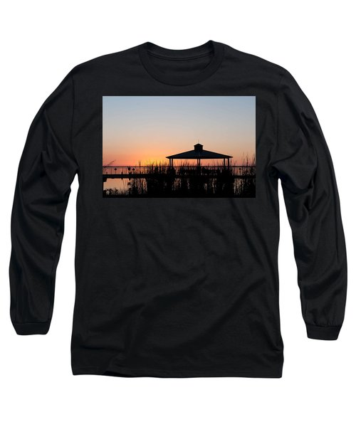 Lake Eustis Sunset Long Sleeve T-Shirt