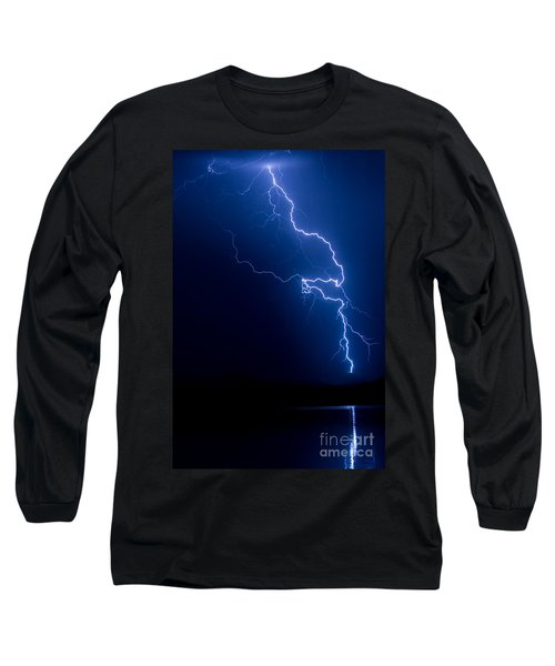 Lake Lightning Strike Long Sleeve T-Shirt