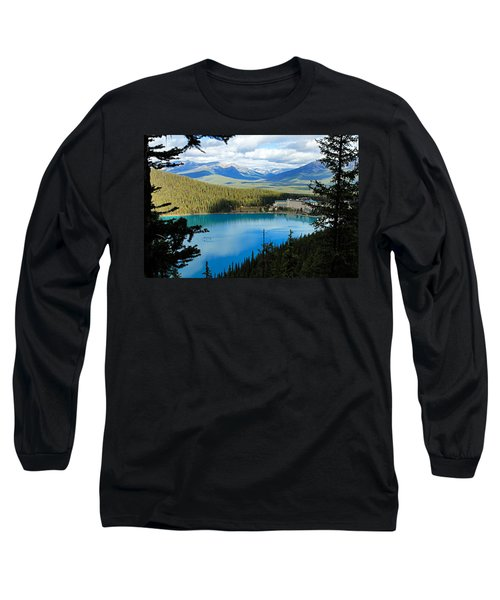 Lake Louise Chalet Long Sleeve T-Shirt