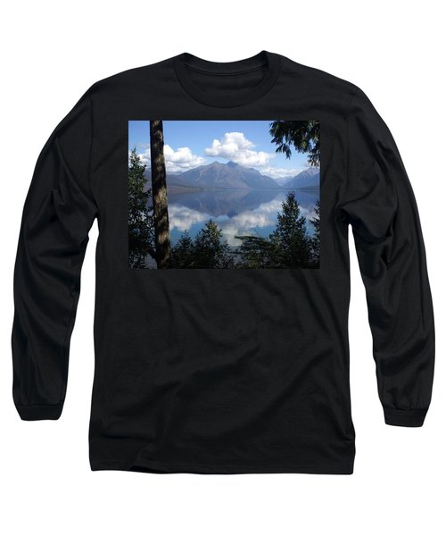 Lake Mcdonald Glacier National Park Long Sleeve T-Shirt