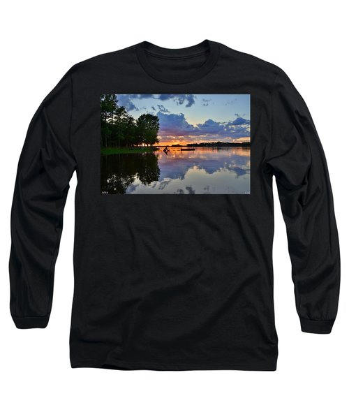 Lake Murray Sc Reflections Long Sleeve T-Shirt