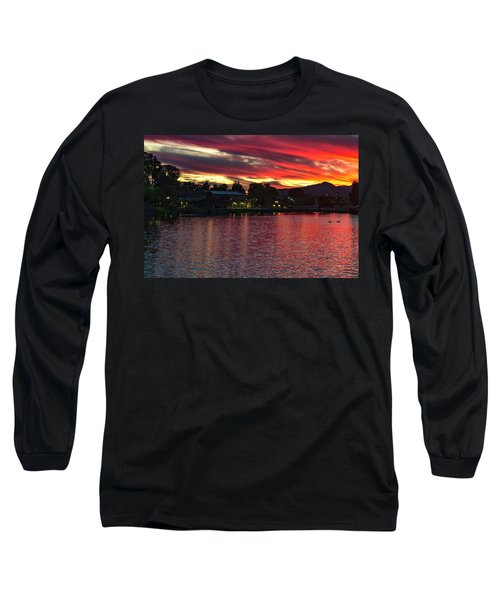 Lake Of Fire Long Sleeve T-Shirt