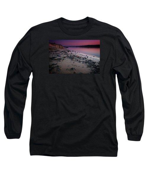 Lake Sunset Vii Long Sleeve T-Shirt