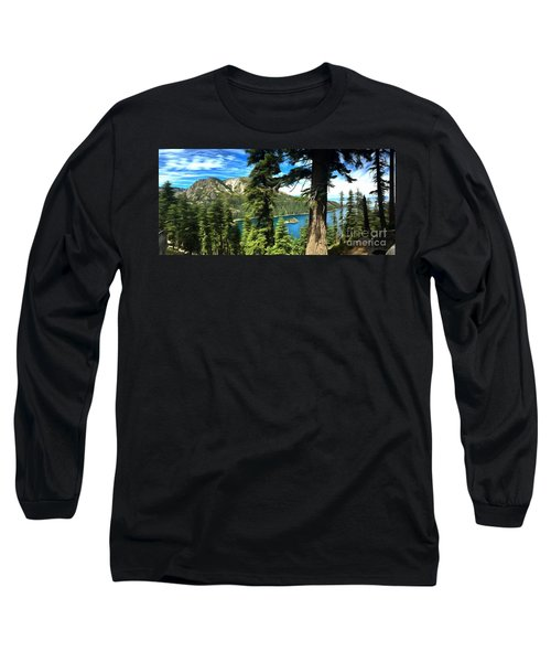 Lake Tahoe Serenity Long Sleeve T-Shirt