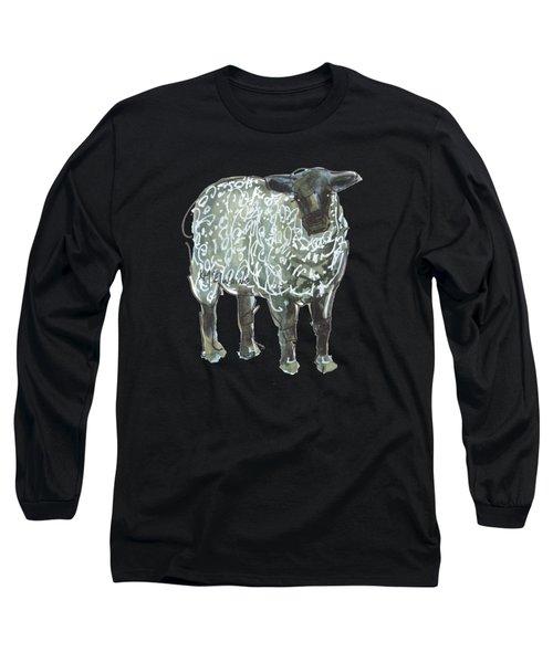 Lamb Art Long Sleeve T-Shirt