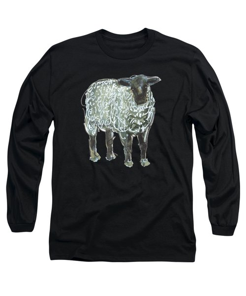 Lamb Art An032 Long Sleeve T-Shirt