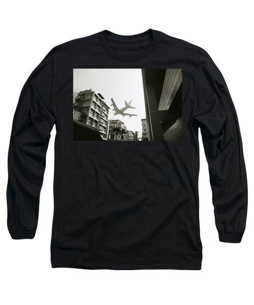 Landing In Hong Kong Long Sleeve T-Shirt