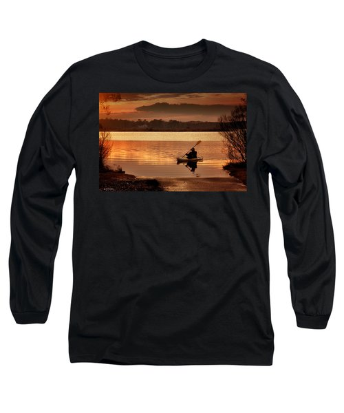 Long Sleeve T-Shirt featuring the photograph Landing by Phil Mancuso