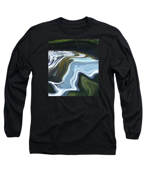 Lands End Long Sleeve T-Shirt by Kerri Ligatich