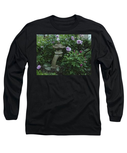 Lantern With Dahlia Long Sleeve T-Shirt