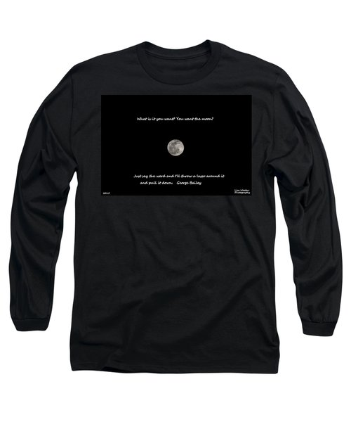 Lasso The Moon Long Sleeve T-Shirt