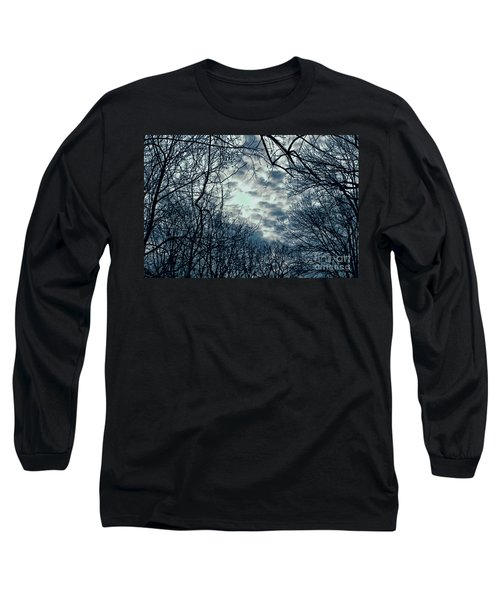 Long Sleeve T-Shirt featuring the photograph Last Light by Sandy Moulder