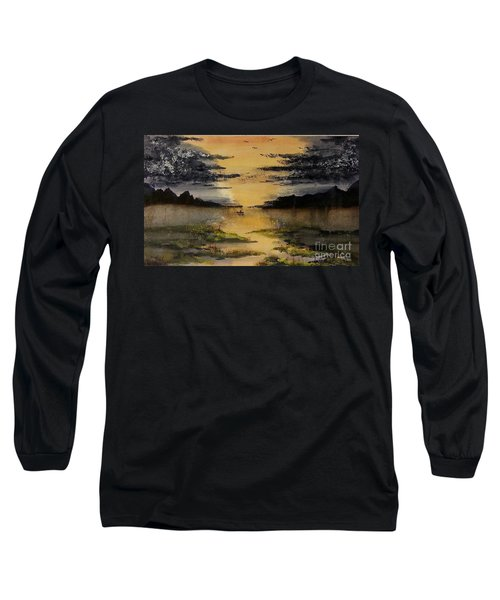 Last One Out Long Sleeve T-Shirt