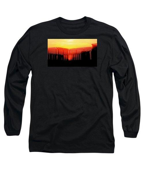 Last Ray Long Sleeve T-Shirt by Yelena Tylkina