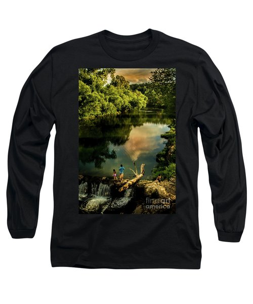 Last Seconds Of Summer Long Sleeve T-Shirt by Robert Frederick