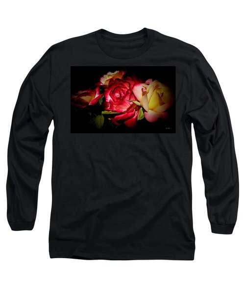 Last Summer Roses Long Sleeve T-Shirt by Gabriella Weninger - David