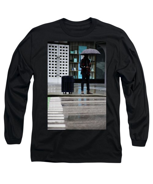 Last Text  Long Sleeve T-Shirt by Empty Wall