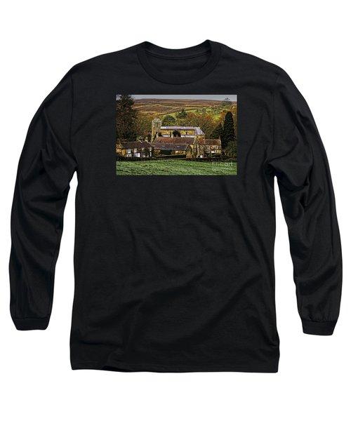 Lastingham Church And Village Yorkshire Long Sleeve T-Shirt