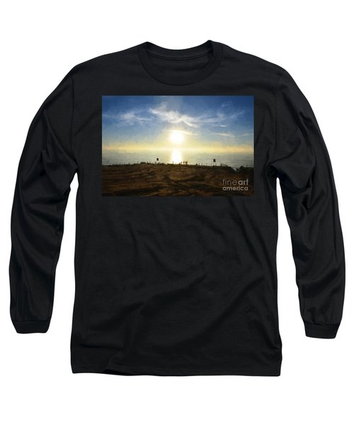 Late Afternoon - Digital Painting Long Sleeve T-Shirt
