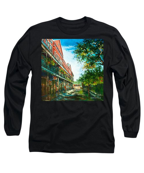 Late Afternoon On The Square Long Sleeve T-Shirt
