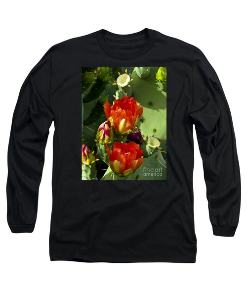Late Bloomer Long Sleeve T-Shirt by Kathy McClure