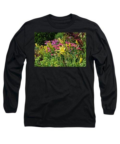 Late July Garden 1 Long Sleeve T-Shirt