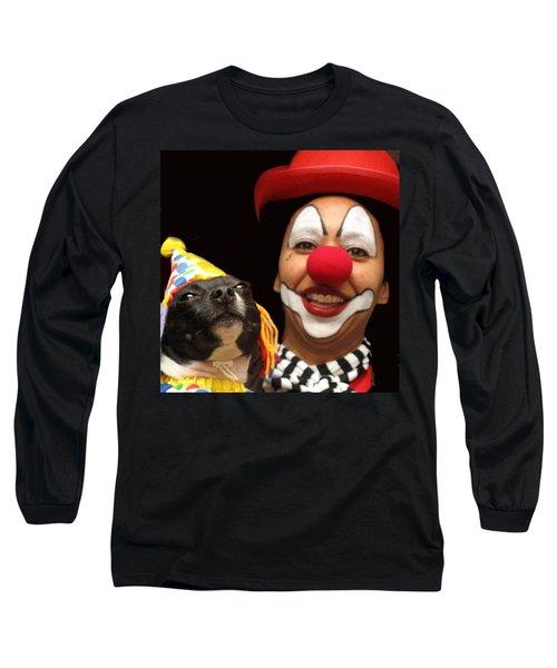 Laugh Out Loud Long Sleeve T-Shirt by Ian  MacDonald