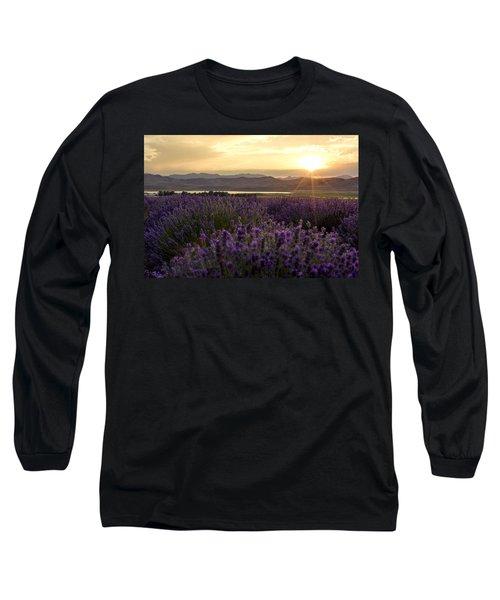 Lavender Glow Long Sleeve T-Shirt