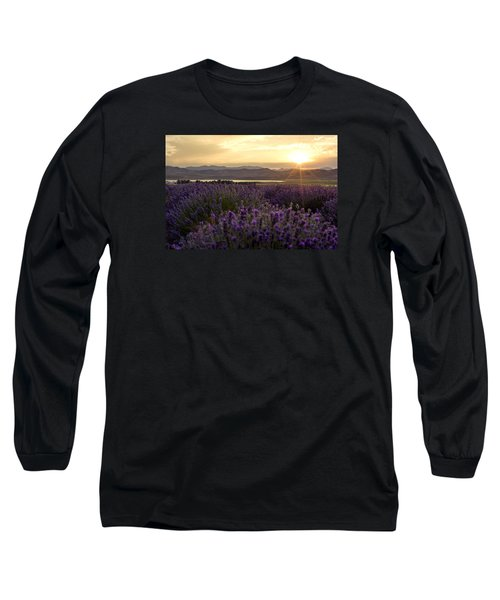 Lavender Glow Long Sleeve T-Shirt