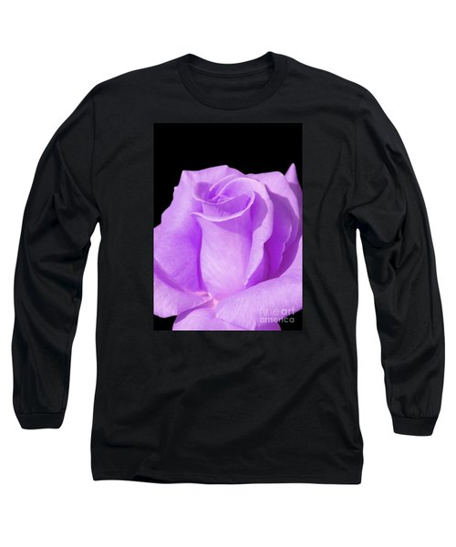 Lavender Rose Long Sleeve T-Shirt