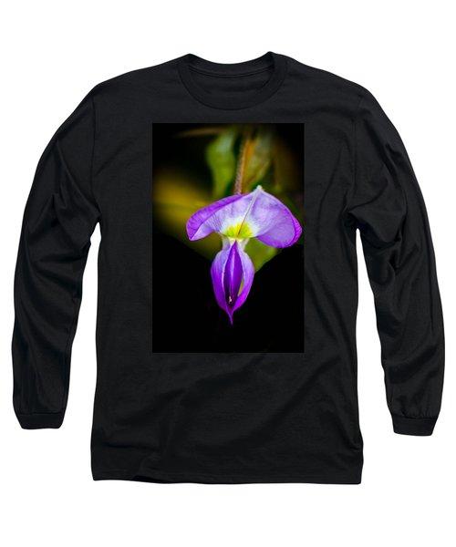 Lavender Starship Long Sleeve T-Shirt