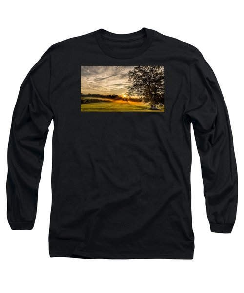 Lawn Sunrise Long Sleeve T-Shirt