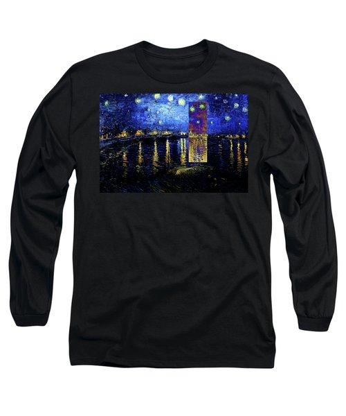 Layered 15 Van Gogh Long Sleeve T-Shirt