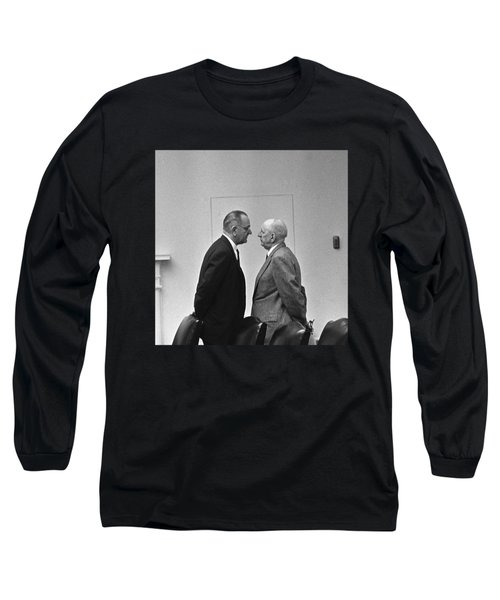 Lbj Giving The Treatment Long Sleeve T-Shirt