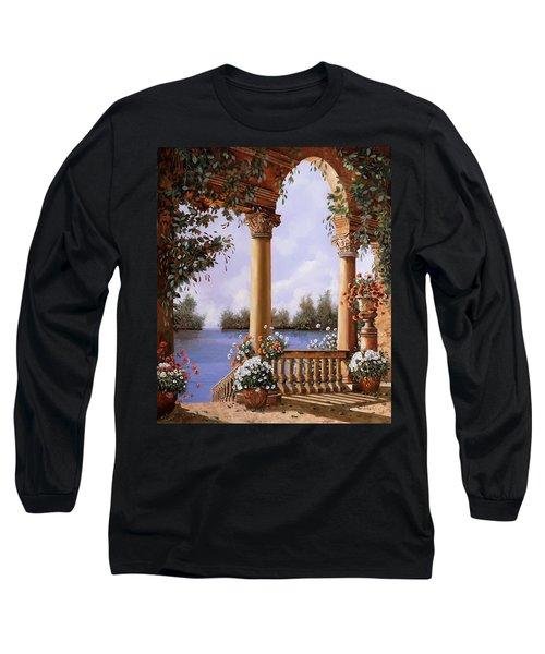 Le Arcate Chiuse Sul Lago Long Sleeve T-Shirt