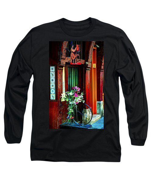 Long Sleeve T-Shirt featuring the photograph Le Potier Rouen France by Tom Prendergast