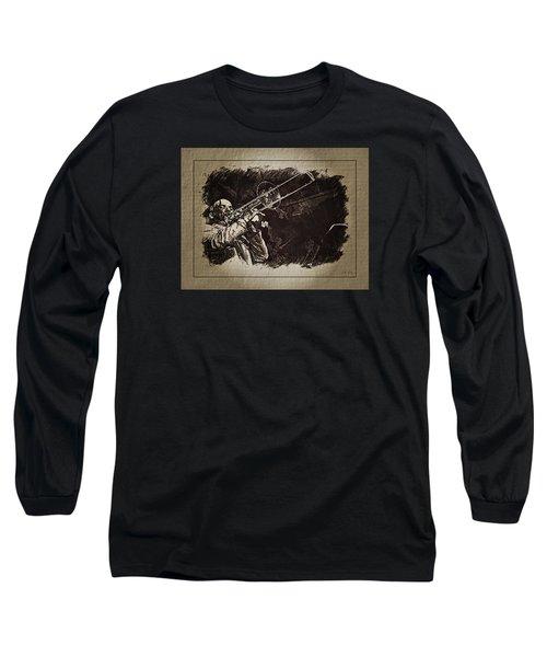 Le Roi Du Trombone  Long Sleeve T-Shirt