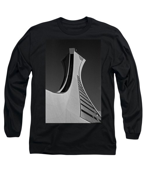 Le Stade Olympique De Montreal Long Sleeve T-Shirt