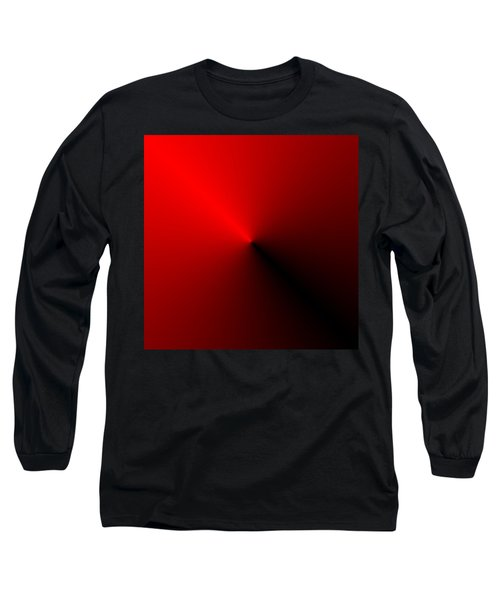 Leader - Red And Black Long Sleeve T-Shirt