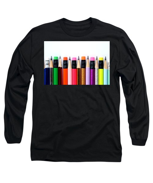 Leads And Erasers Long Sleeve T-Shirt
