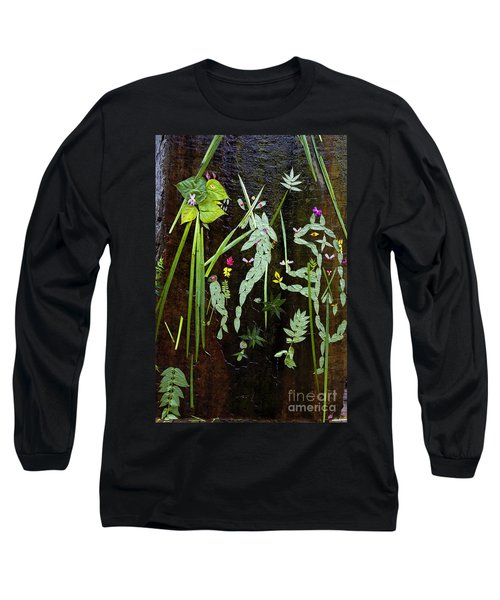 Leaf Art Long Sleeve T-Shirt