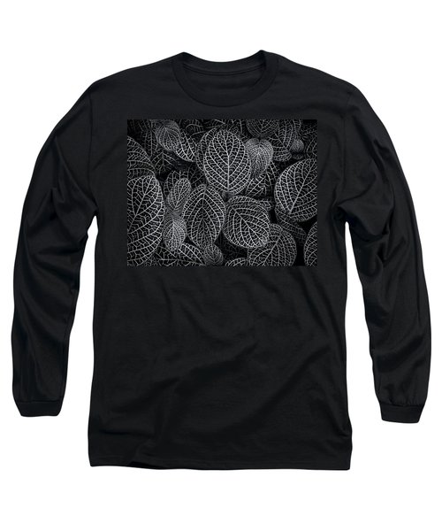 Long Sleeve T-Shirt featuring the photograph Leaf Pattern by Wayne Sherriff