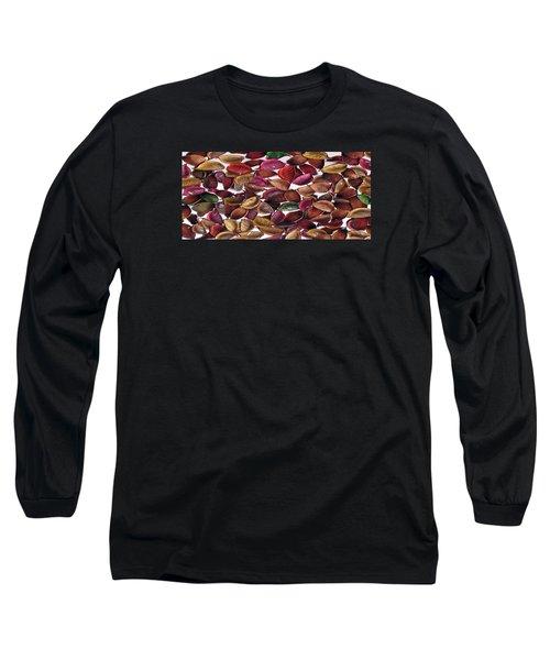 Leaves Long Sleeve T-Shirt by Mirfarhad Moghimi