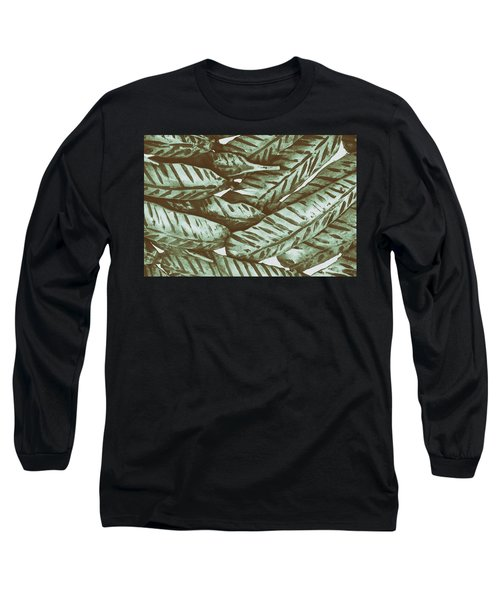 Leaves No. 3-1 Long Sleeve T-Shirt