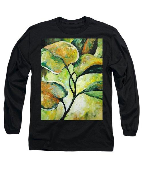 Leaves2 Long Sleeve T-Shirt